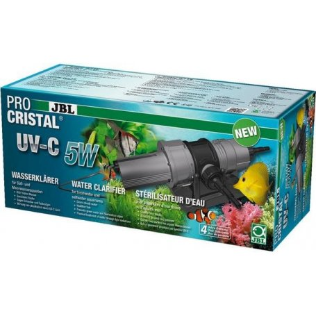 Stérilisateur pour aquarium de 100 à 300 lt,  JBL ProCristal UV-C 5W