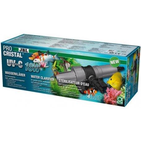 Stérilisateur pour aquarium de 800 à 1500 lt,  JBL ProCristal UV-C 18W