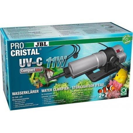 Stérilisateur pour aquarium de 200 à 800 lt,  JBL ProCristal UV-C 11W