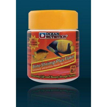Brine Shrimp Plus Flakes, flocons, Ocean Nutrition