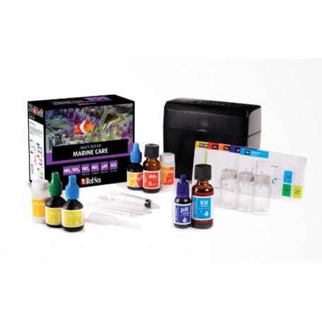 Marine Care Multi Test Kit,  NH3 - NH4 - NO3 - NO2 - pH - KH