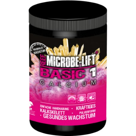 Basic 1 Calcium, complément, Microbe Lift