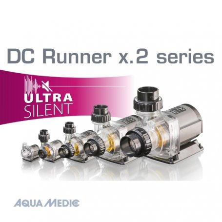 1'200lt/h à 9'000lt/h, Aqua Medic pompe DC Runner x.1/2 Series